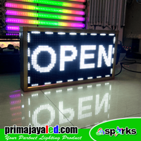 Jual Lampu LED Display Teks Putih