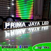 Jual Lampu LED Running Teks Putih 2 Meter
