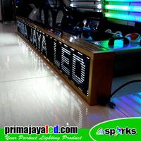 Distributor Lampu LED Running Teks Putih 2 Meter 3