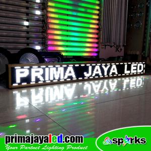 Lampu LED Running Teks Putih 2 Meter