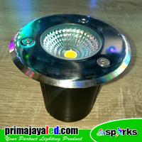 Lampu LED Tanam Lantai COb 6 Watt