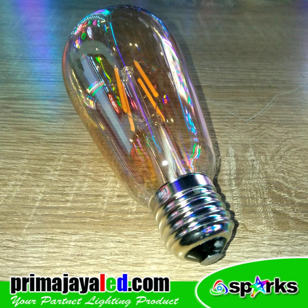 Jual Lampu Bohlam E27 Fillamet LED Edison Harga Murah
