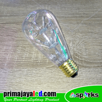 Distributor Lampu Bohlam LED Variasi RGB 3
