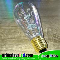 Jual Lampu Bohlam LED Variasi RGB 2