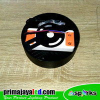 Distributor Lampu Downlight Panel Outbo Hitam 16 Watt 3