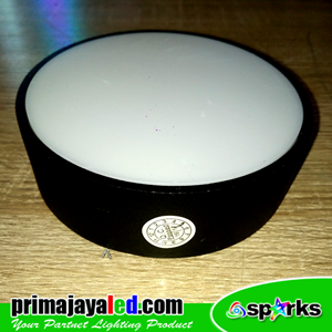 Lampu Downlight Panel Outbo Hitam 16 Watt
