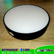 Lampu Downlight Panel Outbo Hitam 24 Watt