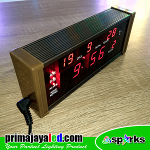 Lampu LED Jam Digital LED