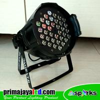 Lampu Par 36 LED 3 Watt RGB 1