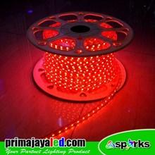 Lampu LED Selang 5050 Merah 50 Meter