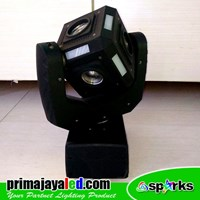Distributor Lampu LED Moving Kubik 60 Watt 3