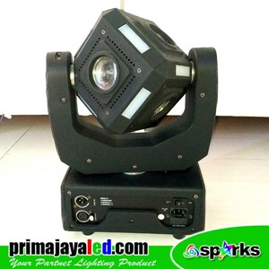 Lampu LED Moving Kubik 60 Watt