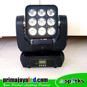 Lampu LED Moving Madrix 90 Watt