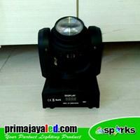 Jual Lampu LED Mini Moving 50 Watt Double Face 2