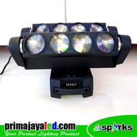 Distributor Lampu LED Moving Spider 8 Mata 3