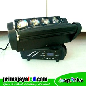 Lampu LED Moving Spider 8 Mata