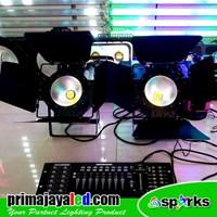 Jual Lampu PAR LED COB 100W DMX 2