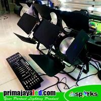 Distributor Lampu PAR LED COB 100W DMX 3