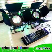Lampu PAR LED COB 100W DMX