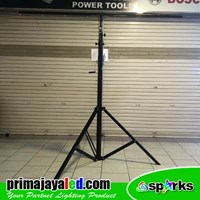 Tiang Lampu Tripod Standring Par LED Single