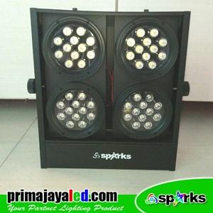 Lampu LED Mini Brute 4 Head