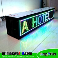 Jual Lampu LED Display 1 Meter Dua Sisi 2