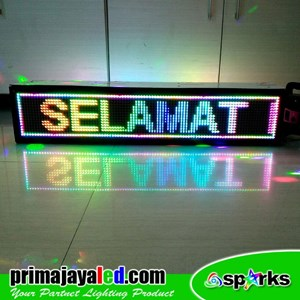 Lampu LED Display 1 Meter Dua Sisi