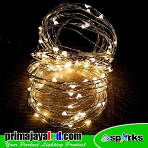 Lampu LED Tumbler Kawat Warm White