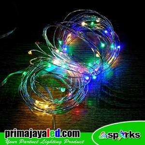 Lampu LED Tumbler Kawat RGB Kedip
