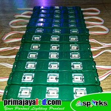 Lampu LED Module Hijau 5630 New