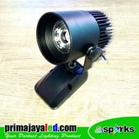 Lampu LED Spotlight 7 Watt Body Hitam 1