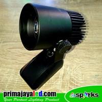 Jual Lampu LED Spotlight 7 Watt Body Hitam 2