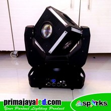 Lampu LED Moving Head LED Kubik 120 Watt