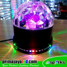 Lampu Hias Disco Ball LED Rotary