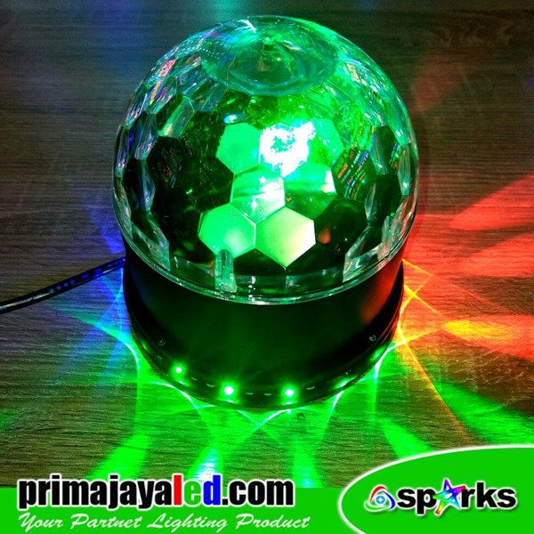 Lampu Hias Disco Ball LED Rotary