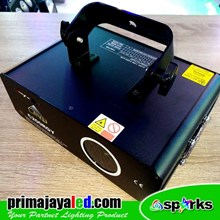 Lampu Laser Show Spark C200 RGY