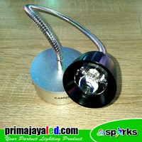 Lampu Baca Flexible LIght Spotlight 3 Watt