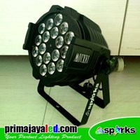 Jual Lampu Par LED 18 4in1 RGBW