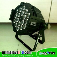Lampu Par LED 18 4in1 RGBW
