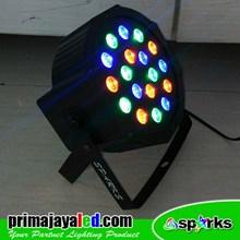 Lampu PAR Mini LED 18 RGB