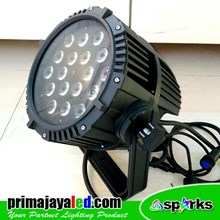 Lampu Par LED Outdoor 18 4in1 RGBW