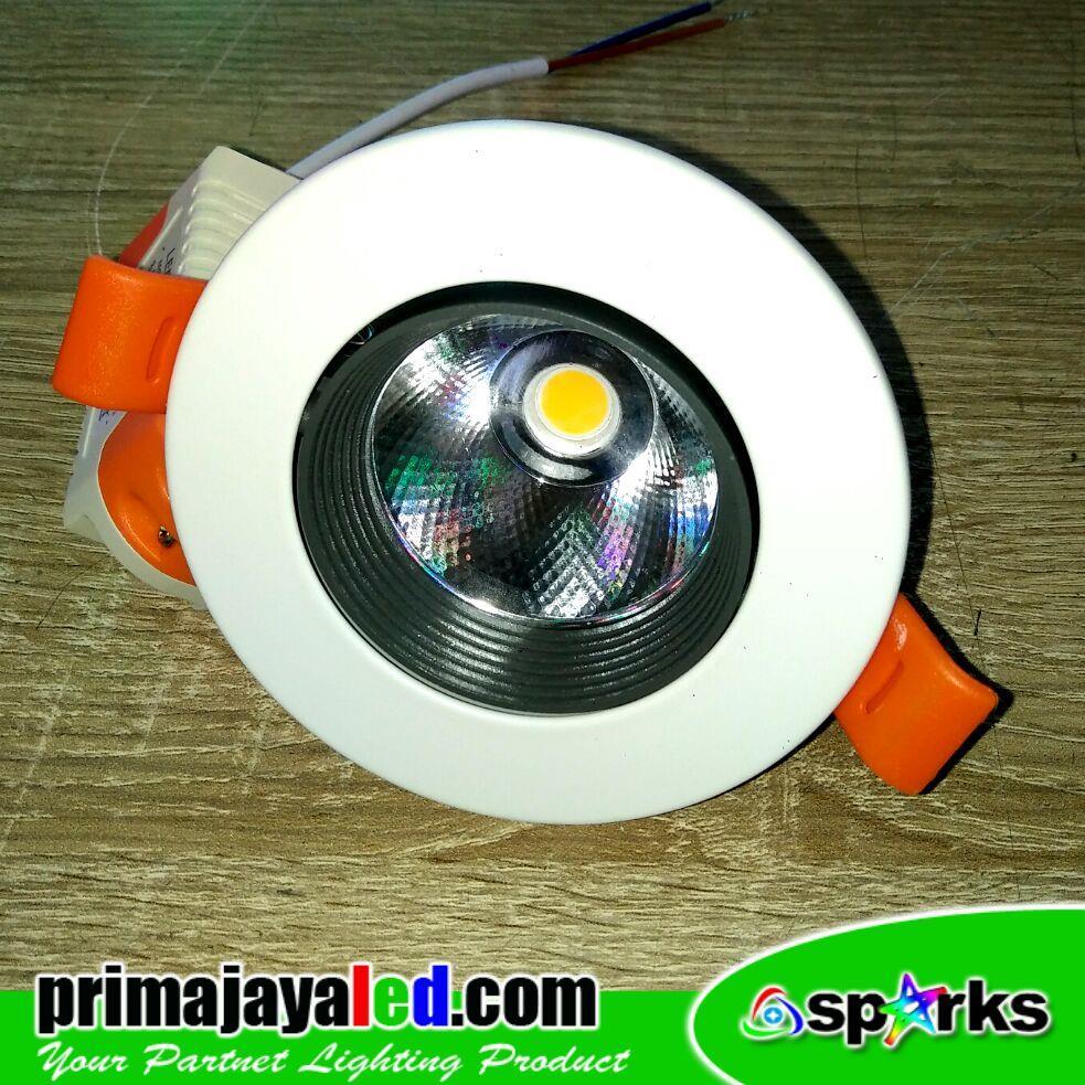 Jual Lampu Downlight Ceiling LED COB Spotlight 7 Watt