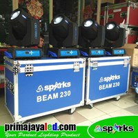 Jual Lampu Halogen Moving Head Beam 230 Doubel Set