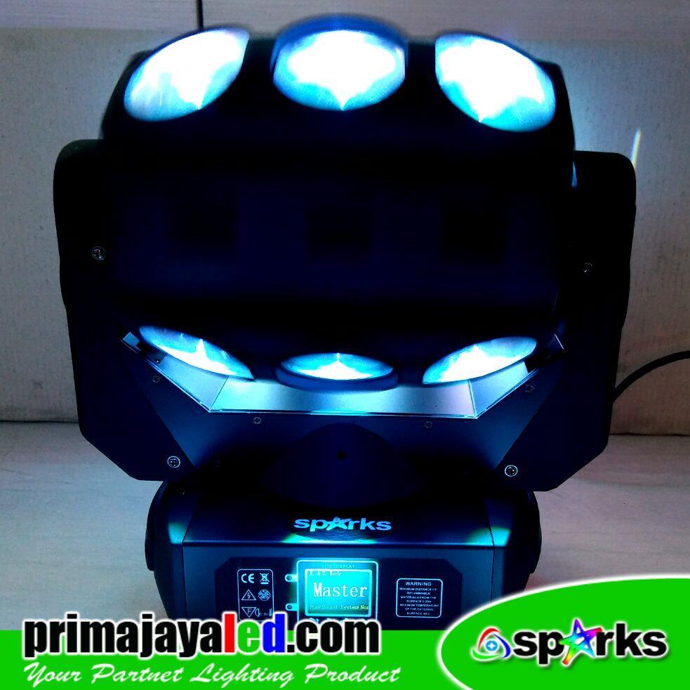 Jual Lampu LED Moving Head Roller 90 Watt Harga Murah