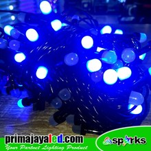 Lampu Hias NEW Twinkle LED Cerry Biru