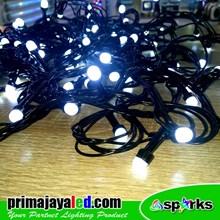 Lampu Hias TERBARU Twinkle LED Cerry Putih