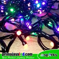 Jual Lampu Hias Twinkle Cerry LED Natal RGB