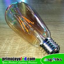 Lampu Bohlam Edison Fillamend LED 6 Watt