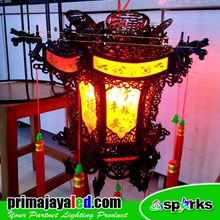 Lampu Hias Dragon LED Lampion Mewah