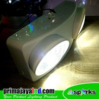 Lampu LED Emergency 2 Head
